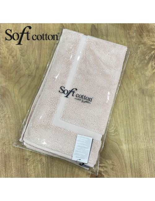 Полотенце-коврик для ног Soft Cotton Node (pudra) 50x90 см