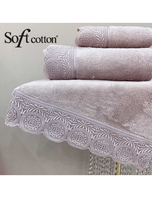 Soft Сotton / Полотенце банное 85х150 см Queen (Lila)