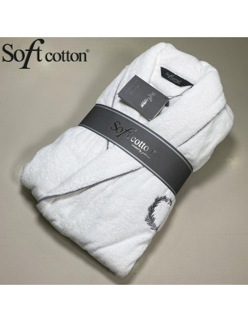 Халат мужской Soft Cotton Sehzade Beyaz