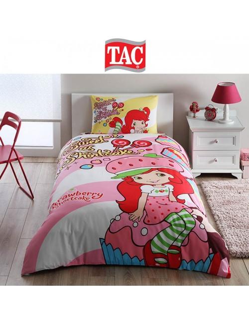 TAC Disney / Strawberry Shortcake Cute Лицензионные Комплекты детского постельного белья с героями из мультиков Ранфорс