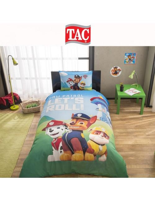 TAC Disney / Paw Patrol Лицензионные Комплекты детского постельного белья с героями из мультиков Ранфорс