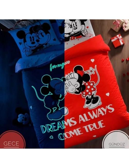 TAC Disney / MINNIE COLOUR MAYHEM Лицензионные Комплекты детского постельного белья с героями из мультиков Ранфорс