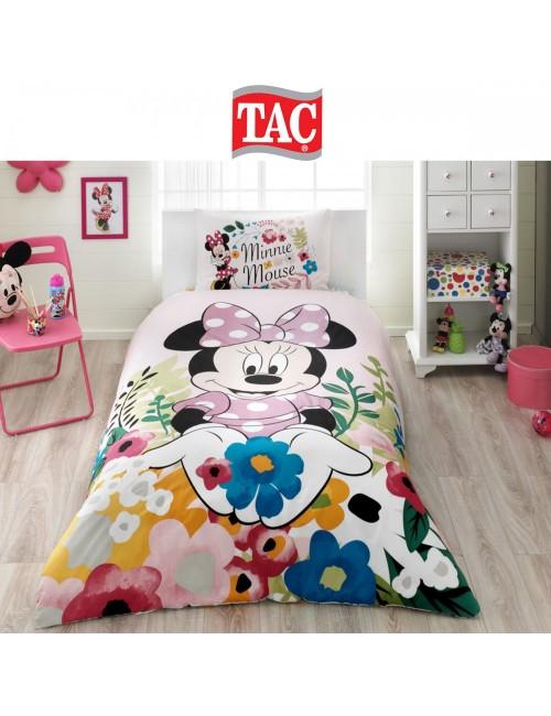 TAC Disney / Minnie Glitter Лицензионные Комплекты детского постельного белья с героями из мультиков Ранфорс