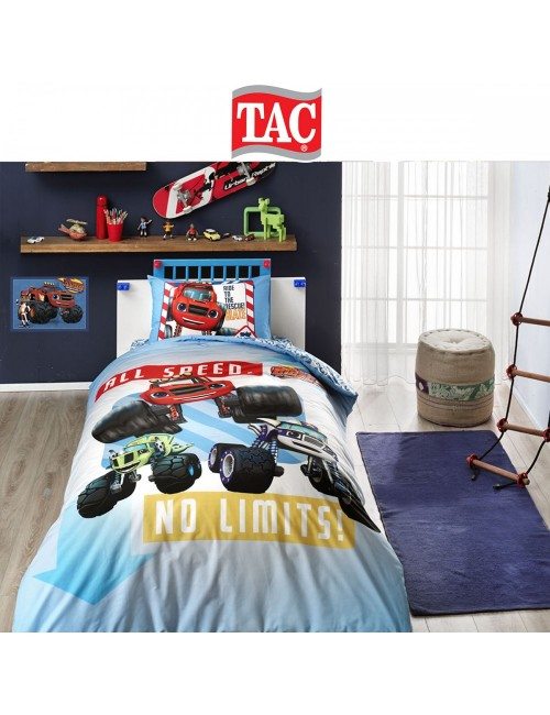 TAC Disney / Blaze Лицензионные Комплекты детского постельного белья с героями из мультиков Ранфорс