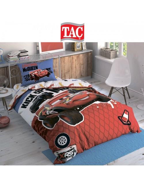 TAC Disney / Cars Adventure Лицензионные Комплекты детского постельного белья с героями из мультиков Ранфорс