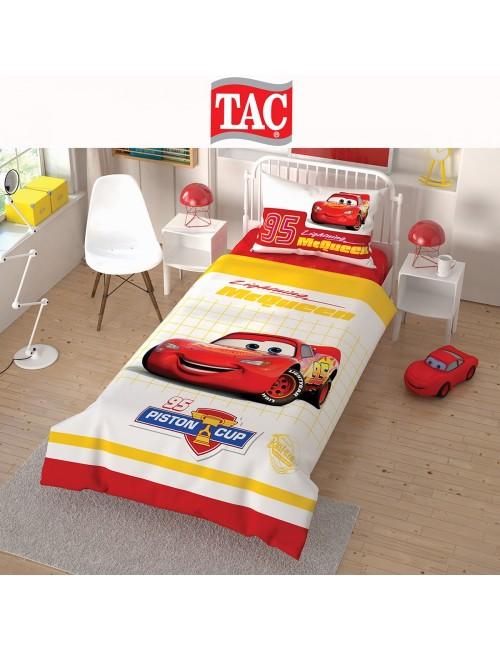 TAC Disney / Cars Лицензионные Комплекты детского постельного белья с героями из мультиков Ранфорс
