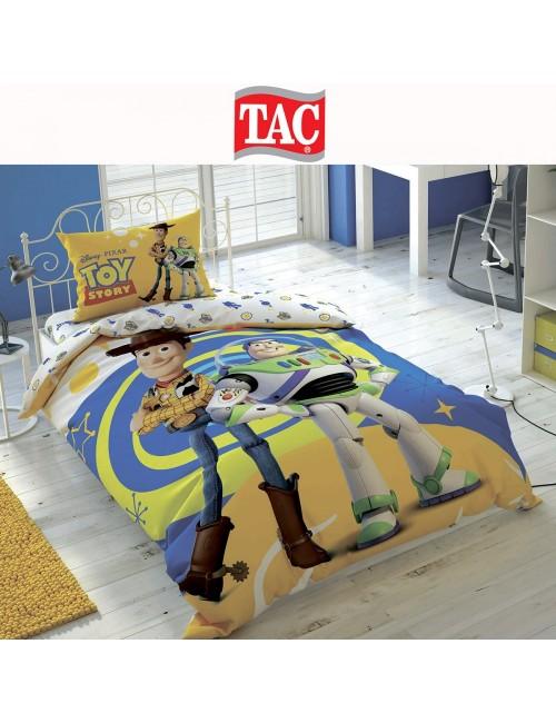TAC Disney / Toy Story 4 Лицензионные Комплекты детского постельного белья с героями из мультиков Ранфорс